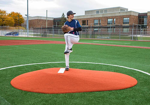 10 Inch Game Mound in Clay
