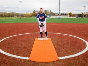 Full Length Spiked Softball Mat